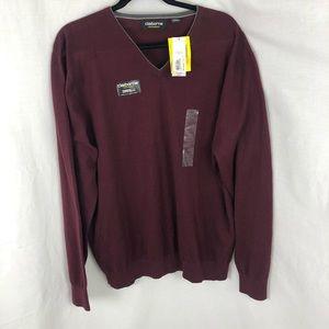 CLAIBORNE PERFORMANCE men's sweater size XXL NWT
